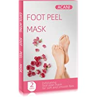 Foot Mask,Foot Peel Mask For Women,4 Pieces Of Foot Masks,Exfoliant For Soft Feet In 7 days, Exfoliating Booties For…
