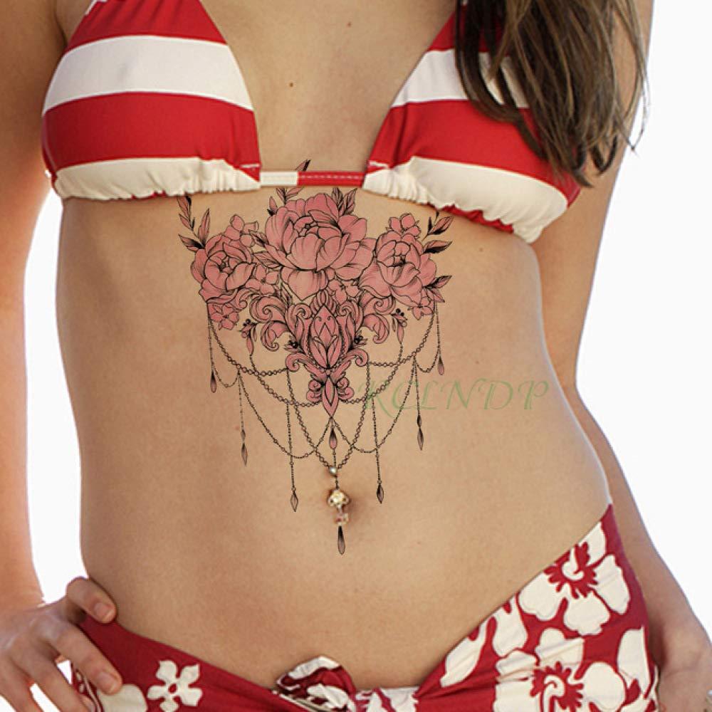 ljmljm 4 Piezas Impermeable Etiqueta engomada del Tatuaje Llave de ...