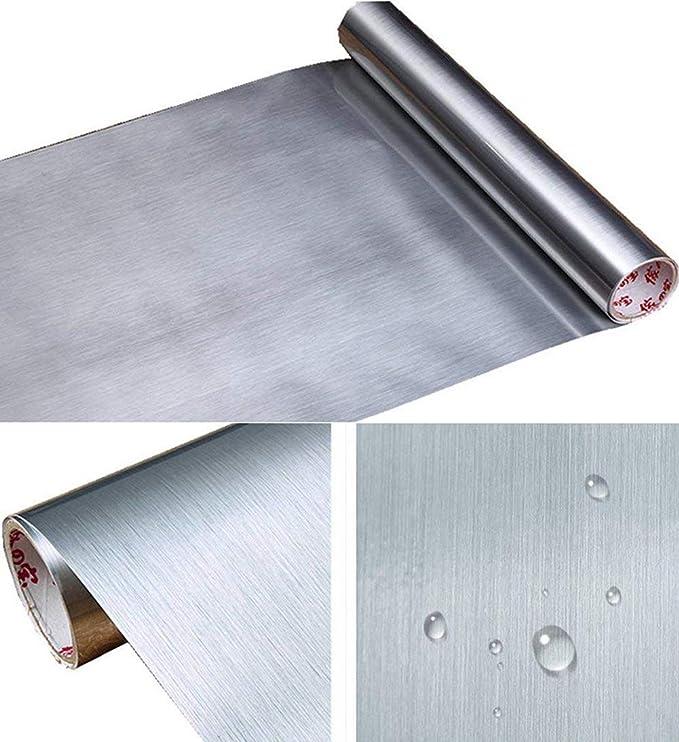 Amazon.com: UPREDO Espesor Metal Aspecto Acero Inoxidable ...