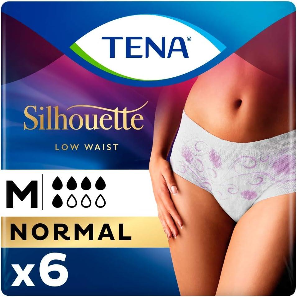 Tena/ 70//–/100/cm Hips Pack Of 6/by Sca /Lady pants Discreet Medium