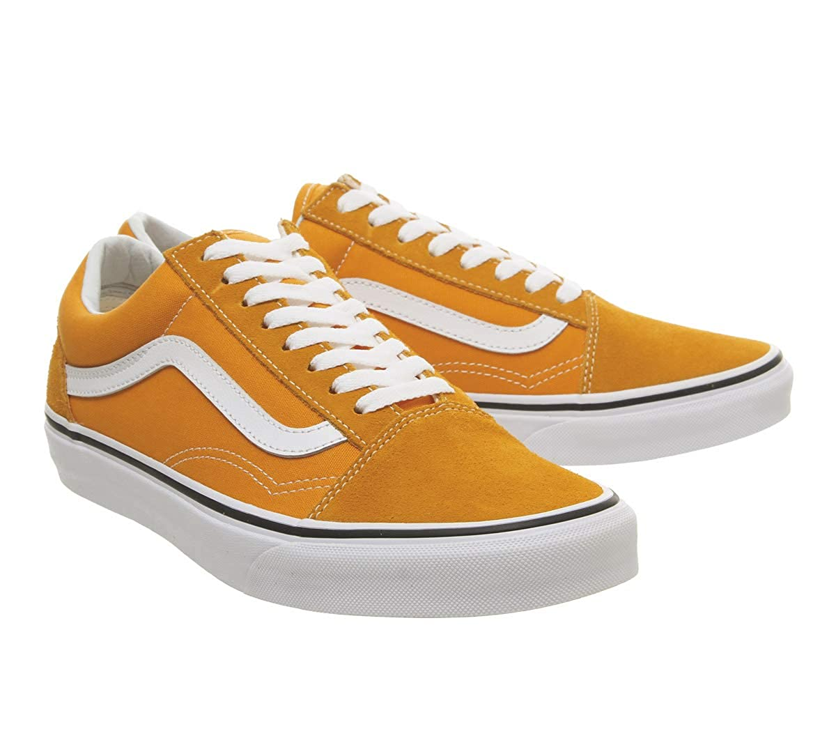 0d3afba6d4d Vans Old Skool Shoes UK 8 Dark Cheddar True White  Amazon.co.uk  Shoes    Bags