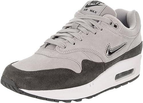 Digital tormenta De acuerdo con  Amazon.com: Nike Air Max 1 Premium Sc Zapatillas informales para mujer,,  Gris, 6.5: Shoes