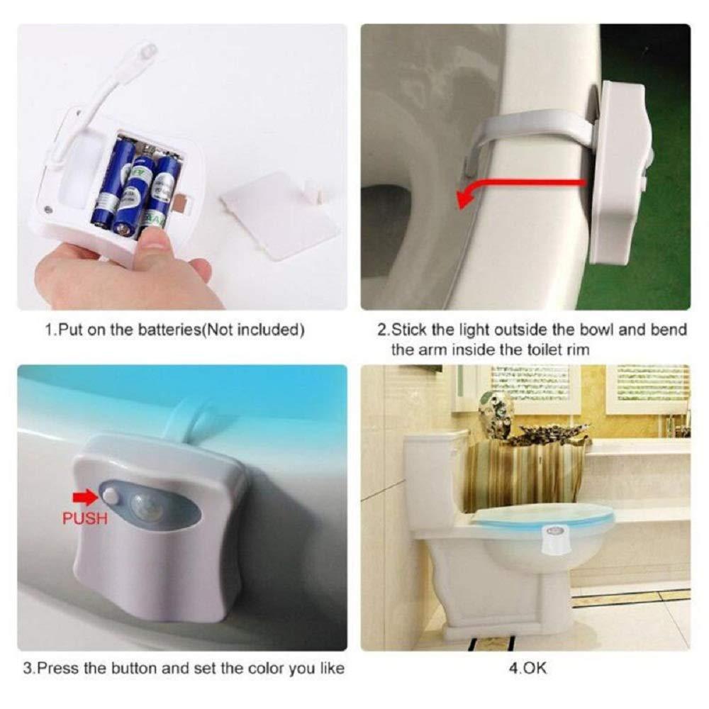 Toilette Beleuchtung Uv Licht Intelligenter Pir Sensor Wc