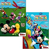 Mickey Mouse Clubhouse Coloring Book Set (2 Books - Mickey Mouse and Minnie Mouse)