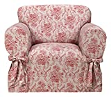 Madison Chateau Slipcover, Chair, Red