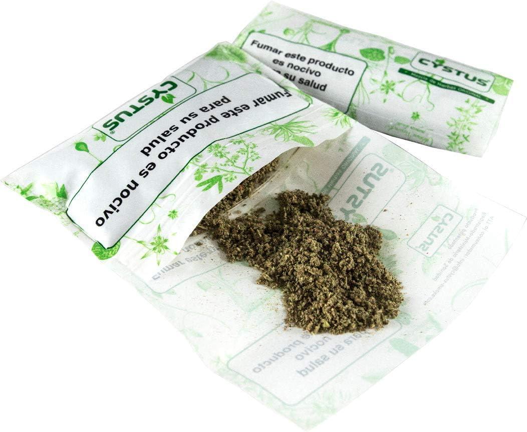Pack x 2 Cigarrillos herbales mezcla de hierbas naturales sustituto alternativa del tabaco cigarrillos sin nicotina sin tabaco (Vainilla)