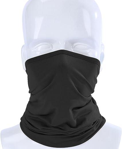 Unisex Breathable Bandana Face Cover Outdoor Cycling Biker Women Neck Scarf Tube