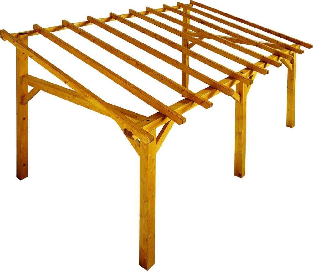 Sherwood estructura de madera con alargador: Amazon.es: Hogar