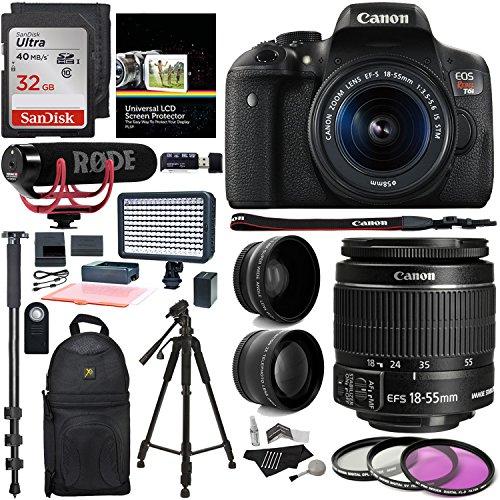 Canon EOS Rebel T6i Video Creator