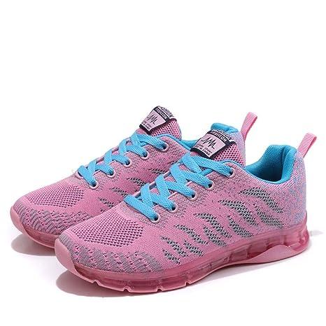 ZODOF Zapatos para Correr Deportivas para Hombre Caminar Fitness Slip on Zapatillas con Knit Calcetín Alta Top Air Sneakers: Amazon.es: Ropa y accesorios