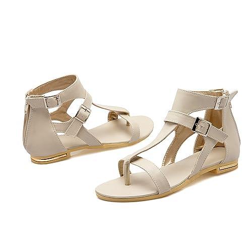AWXJX Summer womens flip flops Leatherette Thick bottom High heel Word trailer Outer wear Slope 8.5 US//39 EU//6 UK Black