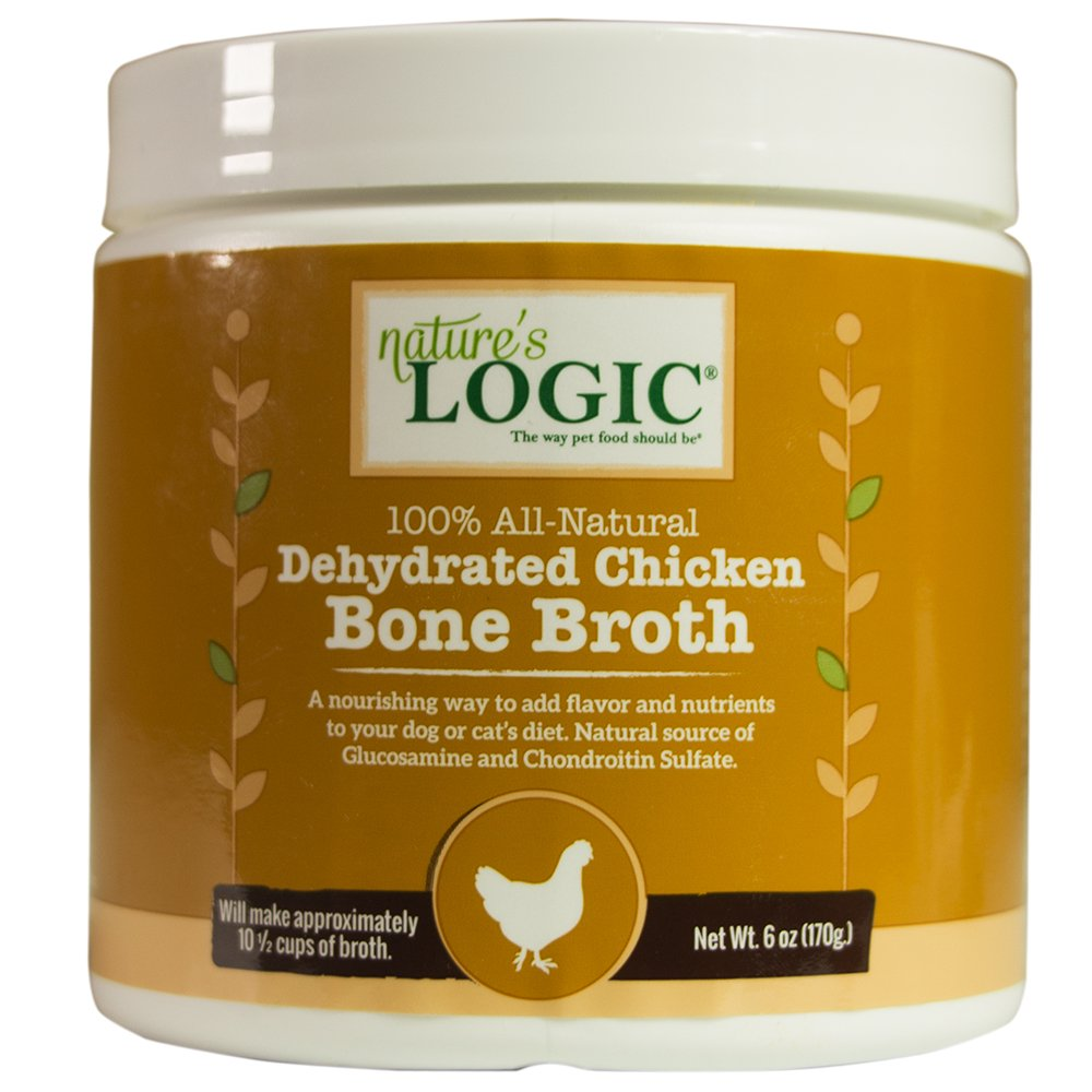 Nature's Logic Dehydrated Chicken Bone Broth, 6oz by NATURE'S LOGIC