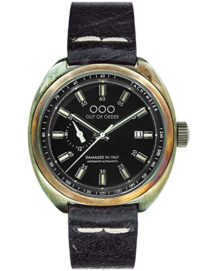 Ooo – Out Of Order Reloj torpedine Black Unisex