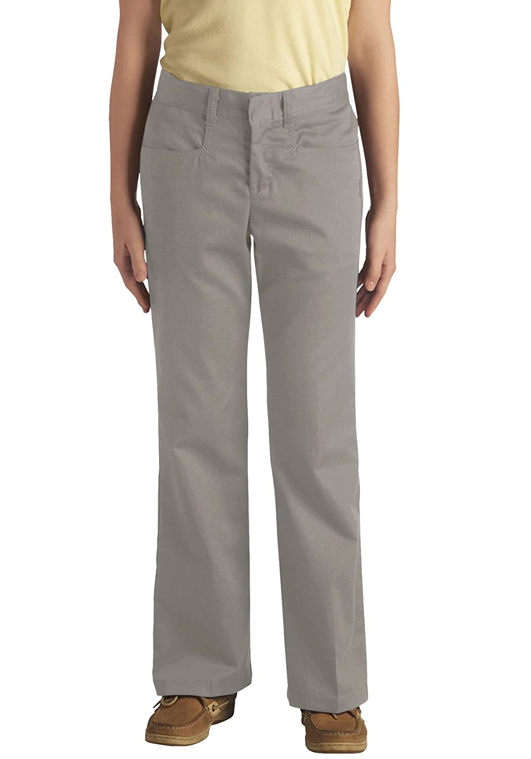 Dickies - - 71-969 Mà ¤ dchen Stretch Pant Flare Bottom (Junior Grà ¶ à Ÿ en) 83294