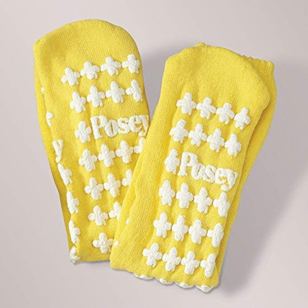 Posey 6239LY Falls Management Socks, Large, Yellow