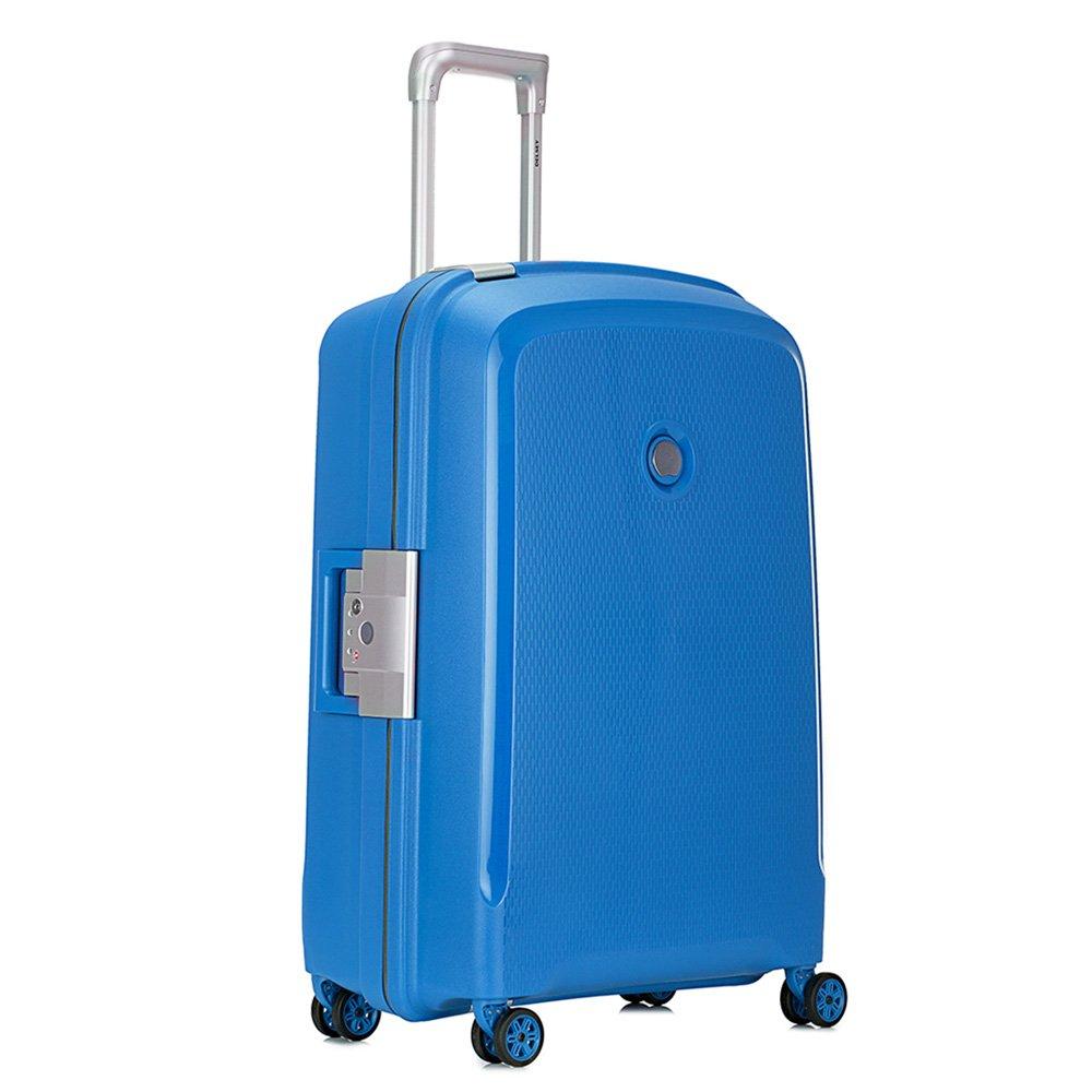 [デルセー]Delsey スーツケース BELFORT PLUS 軽量 大容量 一押し開閉式 TSAロック搭載 耐水 設計 キャリーバッグ キャリーケース 旅行用品 B071GL1KNF シアンブルー-112L シアンブルー-112L