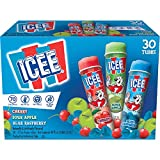 J and J Snack Icee Snack Tube - Variety Pack, 3 Ounce - 30 per case.