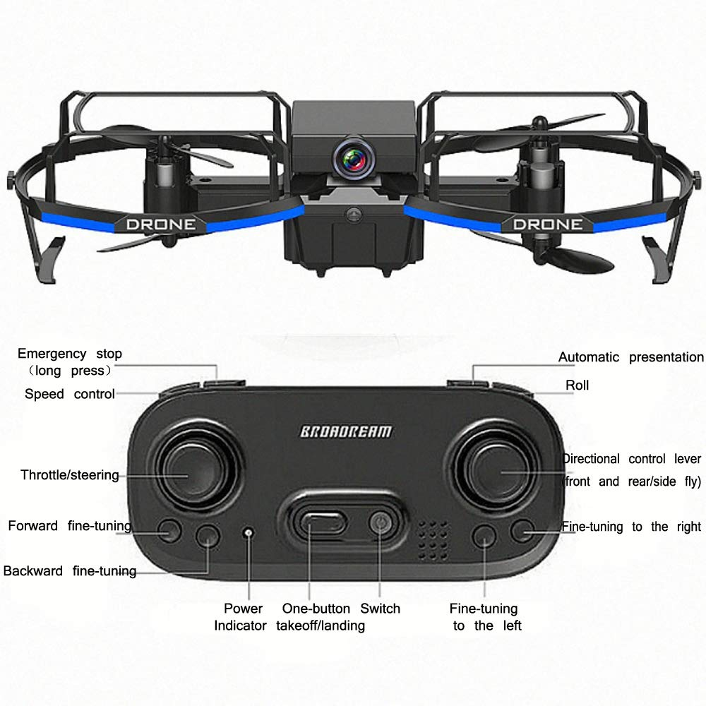 Mini remoto Quadcopter de control, en forma de paracaídas con el ...