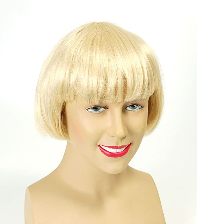 China Industries t/a Wow! Stuff China Doll Wig.Blonde Best (peluca): Amazon.es: Juguetes y juegos