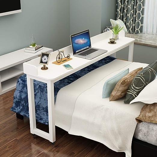 Mesa con ruedas, mesa de cama con ruedas, sobre la cama, para ...