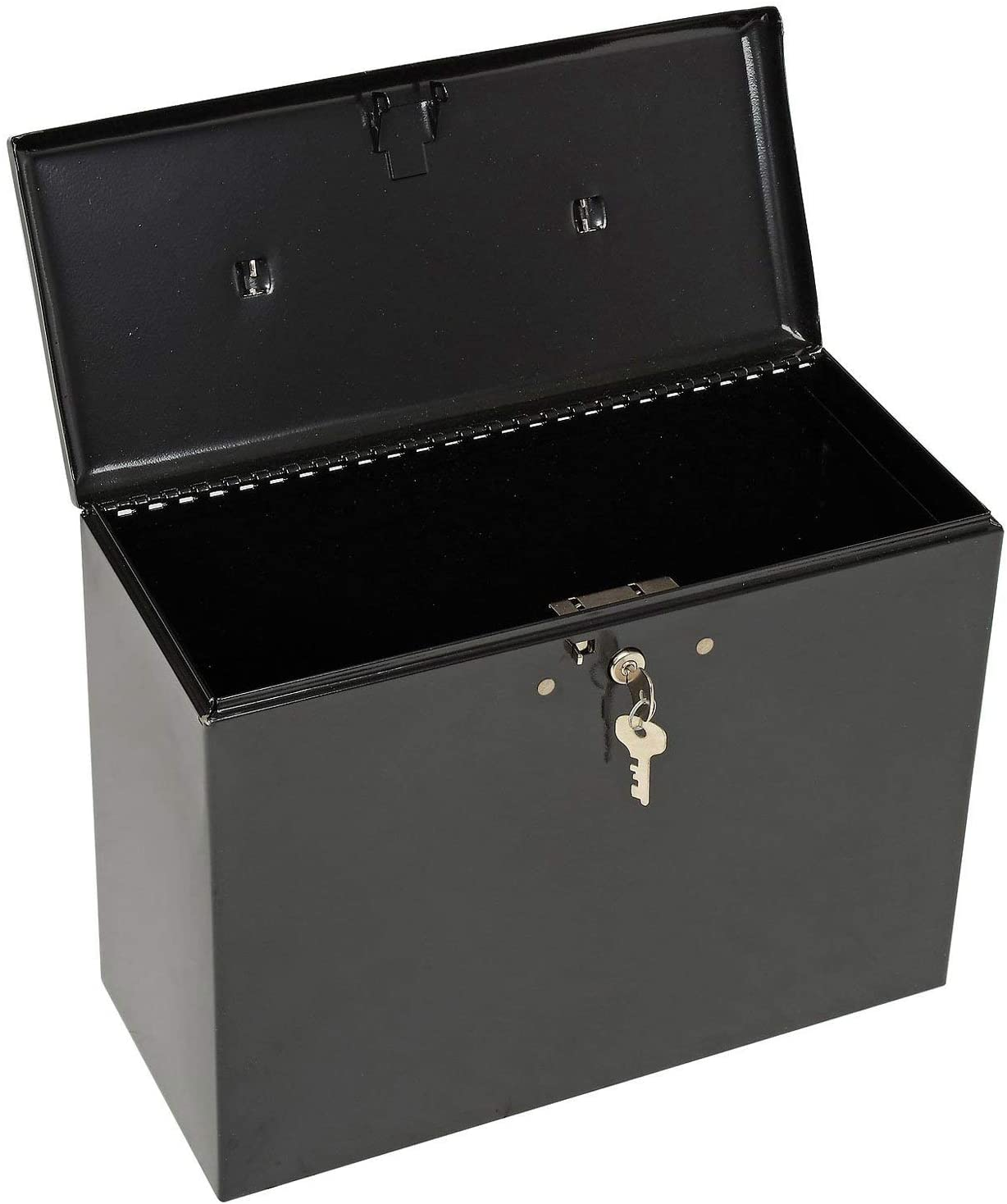 Master Lock 7148D File Box, 0.49 Cubic Feet, Black: Home Improvement
