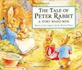 Finally, The Tale of Peter Rabbit is available in a colorful board book. This generously sized book tells Beatrix Potter's famous tale of naughty Peter Rabbit's adventures in Mr. McGregor's garden. Young children will be enchanted by the simp...