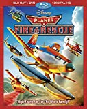 Planes: Fire & Rescue [Blu-ray + DVD + Digital Copy] (Bilingual)