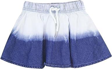 boboli 403041-BLUE Falda, Azul (Blue), 2 años para Niñas: Amazon ...