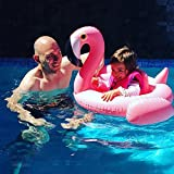 Best COFFLED Kids Electric Cars - Baby Flamingo Inflatable Swimming Float; Swimming Ring Lounger Review