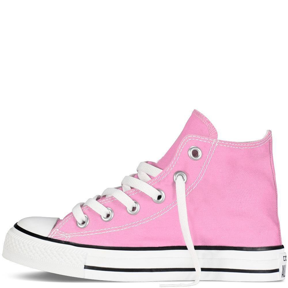 Converse Kids' Chuck Taylor All Star Canvas High Top Sneaker B0037M3RUI 10.5 M US Little Kid|Pink