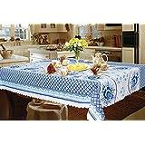 "Gzhel Tablecloth 59""x94.5"" / 150cmX240cm"