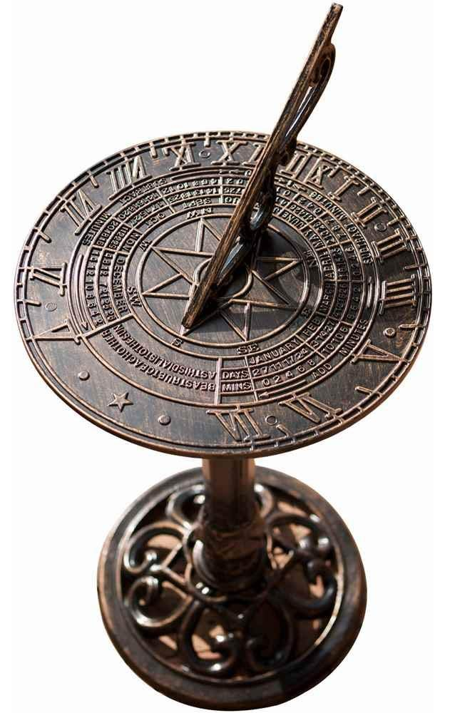 Best Selling Dia Sol Sun Dial, Antique Copper Finish by Best-selling