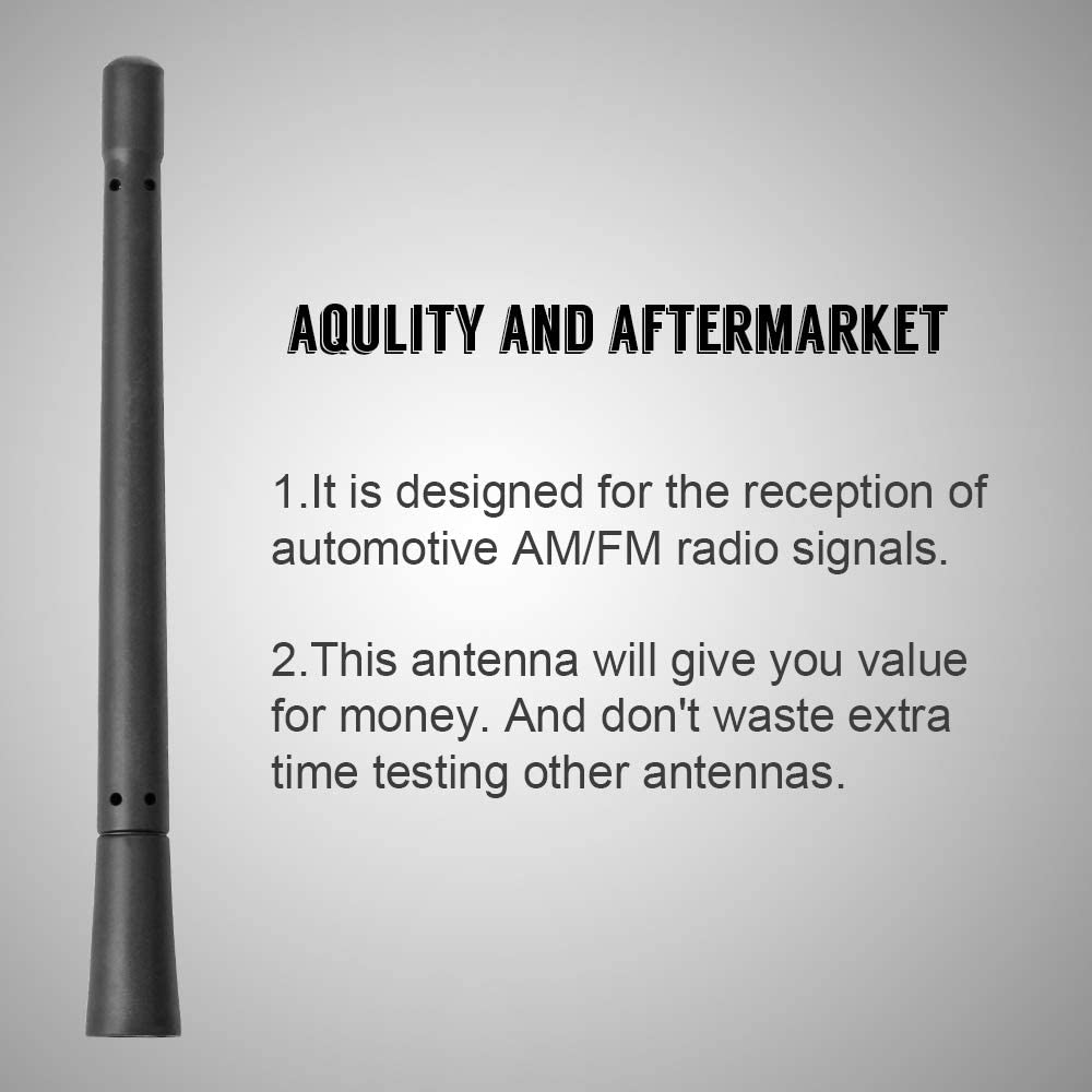 2009-2020 VOFONO Stubby Antenna Compatible with Ford F150 /& Dodge Ram 1500