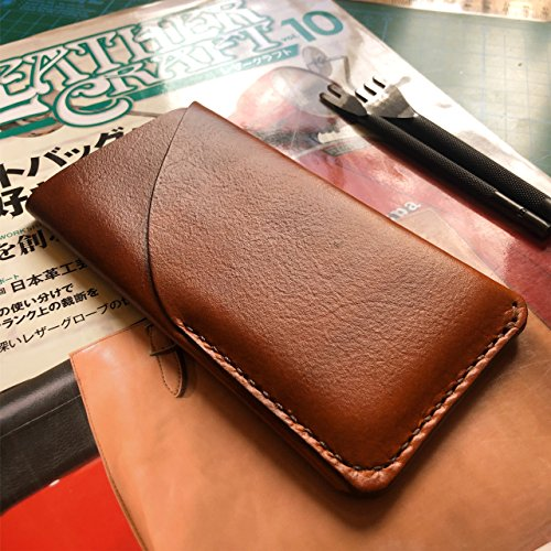 Leather iphone Sleeve with card pocket / Handmade iphone leather Sleeve /...