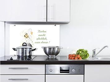 graz-design Küchenrückwand Glas-Bild Spritzschutz Küche |edler ...