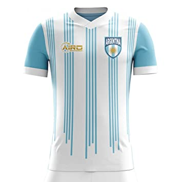 Airo Sportswear 2018-2019 Argentina Home Concept Football Soccer T-Shirt Camiseta (Kids