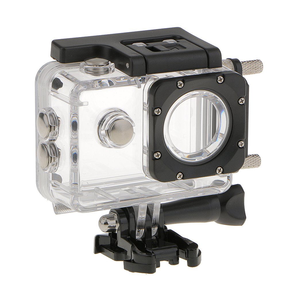 SJCAM Motorcycle and ATV Waterproof Case for SJ4000 Series Action Camera, Water Resistant Housing and Car Charger Generic STK0151003208