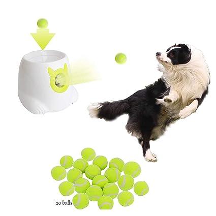Pet Supplies Dporticus Automatic Interactive Dog Tennis Ball