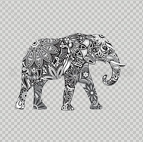 Decals Sticker Elephant Car Window Wall Art Decor Doors Helm