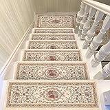 Stair pad Carpet mat Stair Carpet Footpad Carpet Household Doormat Non-Slip Rectangle