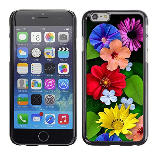GooooStore/Housse Etui Cas Coque - Floral Spring Summer Flowers Mothers Day - Apple Iphone 6 Plus 5.5