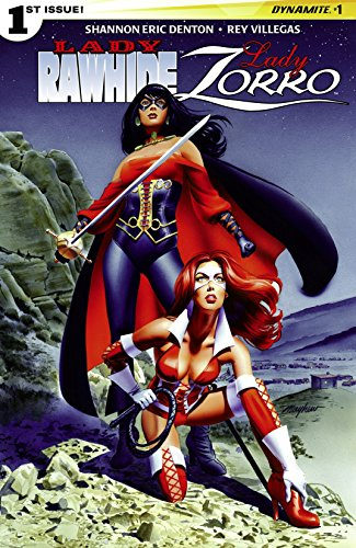 Lady Rawhide/Lady Zorro #1 (of 4): Digital Exclusive Edition Lady Zorro Short