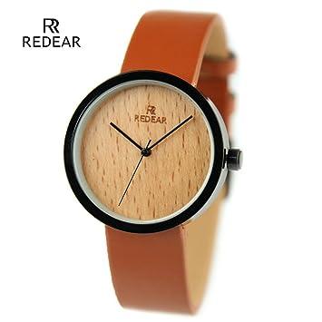 gxs-806 Alloy Shell/madera cuarzo Relojes bisutería mujer reloj/Salud mesa de