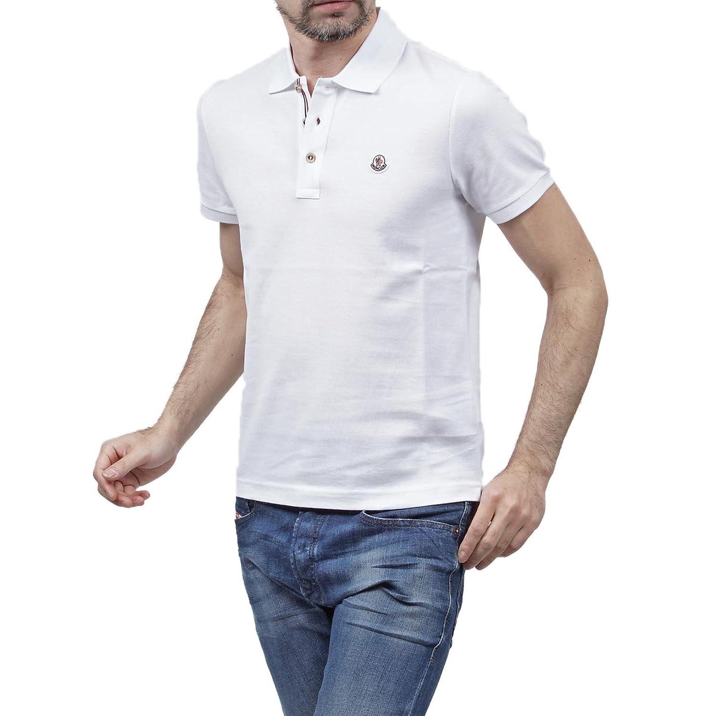 (モンクレール) MONCLER ポロシャツ [並行輸入品] B06W9LD9YJ  ホワイト XL