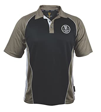 Amazon Guinness Brown Paneled Performance Golf Shirt With