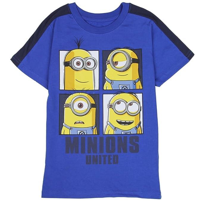 Amazon Com Minions Toddler Little Boys United T Shirt Clothing