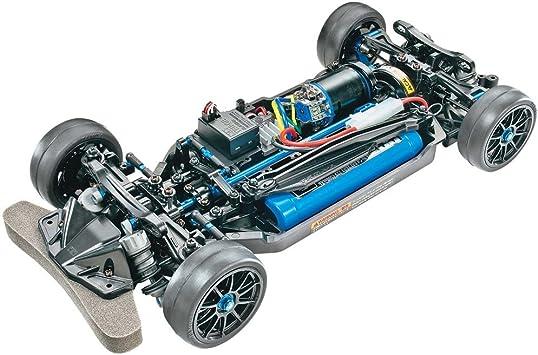 Telaio 47326-000 Tamiya 47326 Hobby modellismo 1:10 RC TT-02R Kit Auto telecomandato//Veicolo radiocomandato Colore Nero