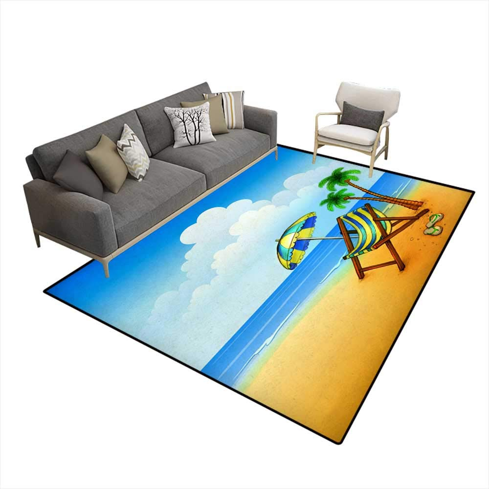 Pleasant Amazon Com Extra Large Area Rug Drawing Of Chaise Lounge 6 Squirreltailoven Fun Painted Chair Ideas Images Squirreltailovenorg