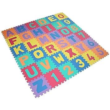 amazon and baby numbers puzzle mats alphabet com playmat verdes dp play foam mat