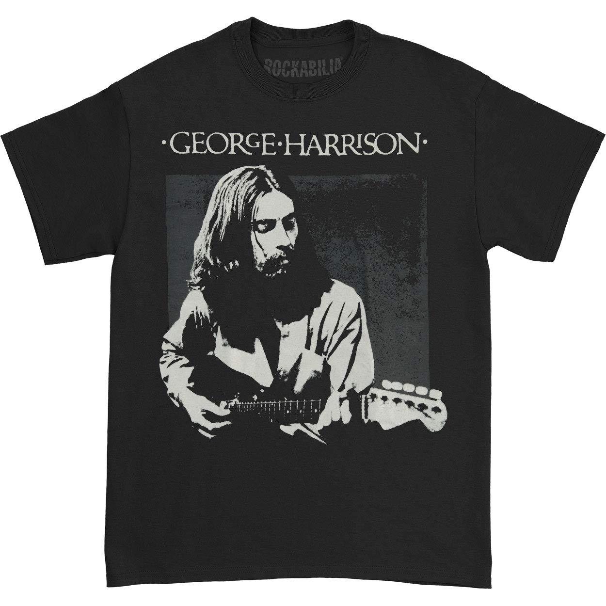 Beatles S George Harrison Live Portrait Tshirt
